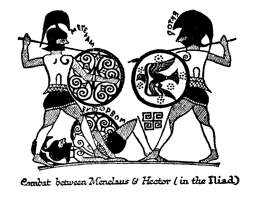 the belief of balance in greeks life as depicted in iliad by homer